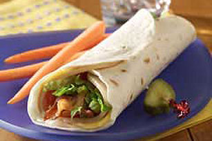 Wrapped Turkey Club Image 1