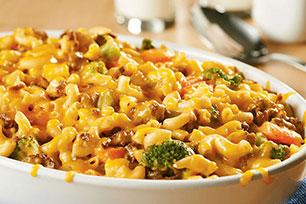 Zesty Cheeseburger Mac Casserole Image 1