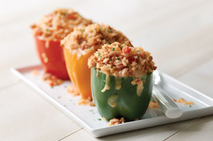 Zesty Stuffed Bell Peppers