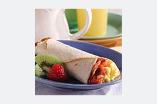 Zesty Bacon & Egg Wrap Image 1