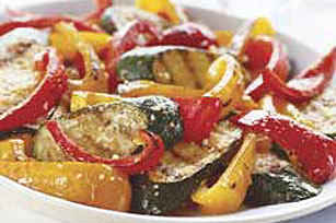 Grilled Parmesan Vegetables Image 1