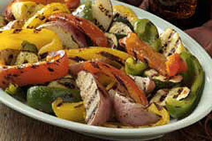 Simply Sensational Grilled Vegetables