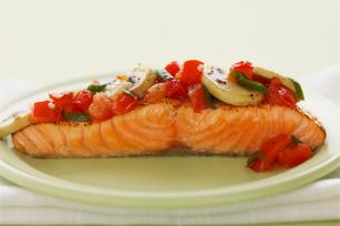 Zesty Italian Baked Salmon Image 1