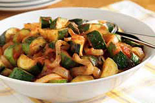 Zesty Zucchini and Onions Image 1