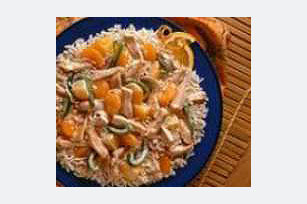 Zippy Orange Chicken and Rice Image 1