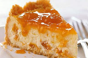 Apricot Cheesecake Image 1