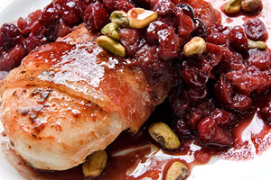 bacon-wrapped-chicken-cranberry-port-sauce-148511 Image 1
