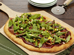 Barbecue Flatbread Salad