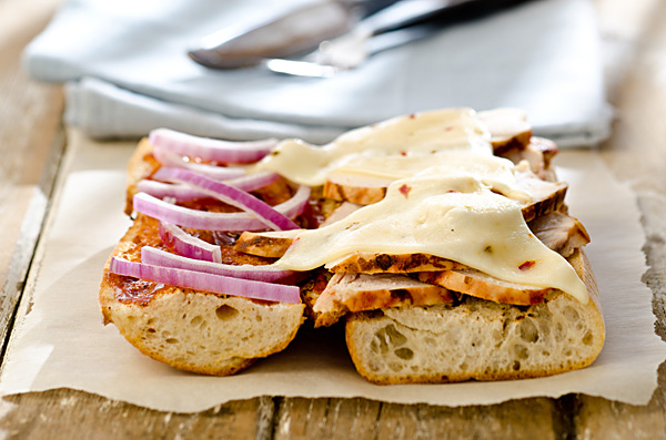BBQ Chicken Melts