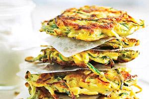 Bumper-Crop Zucchini Pancakes