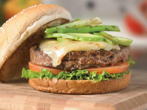 Burgers au fromage Tex-Mex