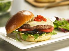 Burgers Bistro aux portobellos et au fromage suisse