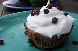 Chocolate Chip Brownie Cheesecakes Image 1