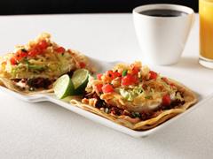 Chorizo & Egg Breakfast Tacos