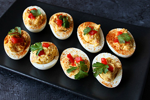 Deviled Eggs with Ham Image 1