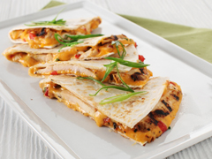 Dijon Grilled Chicken & Pimento Cheese Quesadillas