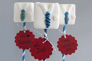 Father's Day Marshmallow Pops