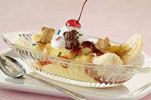 JELL-O® Pudding 5-Minute Banana Split