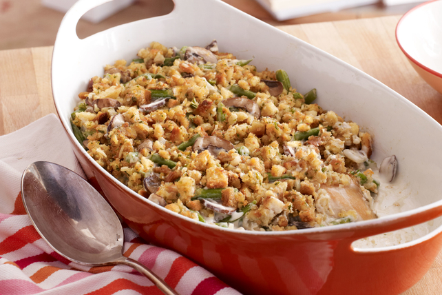 Make-Ahead Chicken & Green Bean Casserole Image 1