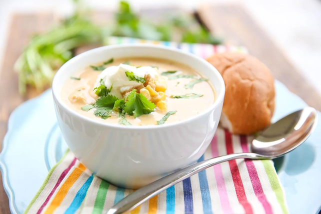 Creamy Chicken and Rice Taco Soup Image 1