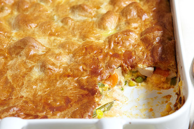 Cheesy Chicken Pot Pie Image 1