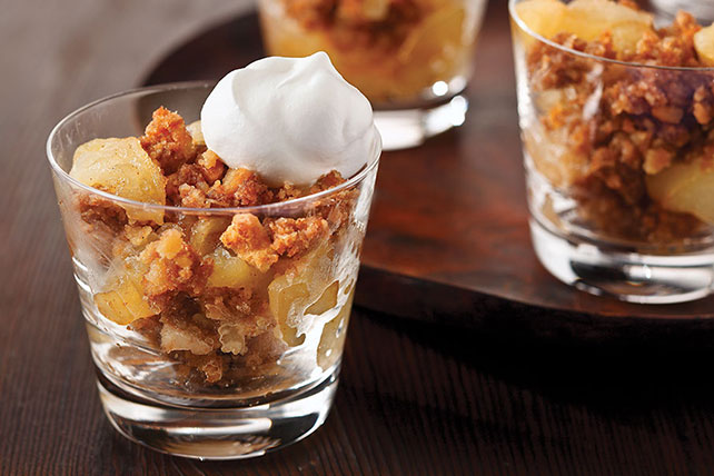 Cookie Crumb-Topped Apple Crisp