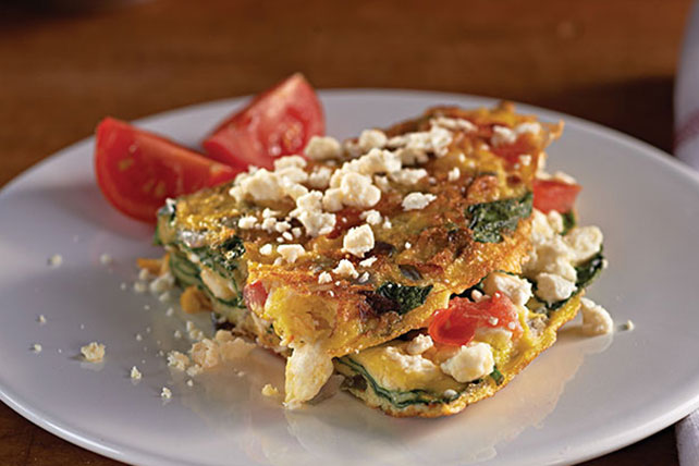 Greek Omelet with Feta