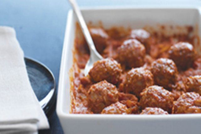 Porcupine Meatball Appetizers Image 1