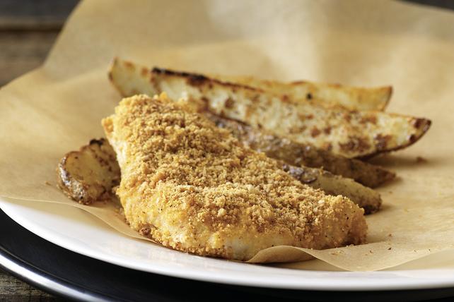 Poisson et frites au four Image 1