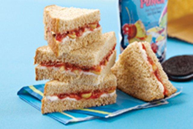 Sandwich croquant au fromage à la crème Image 1