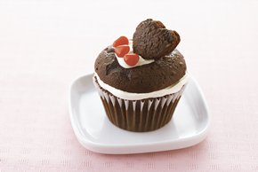 Heart-of-My-Heart Chocolate Cupcakes