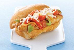 Rápidos y sencillos sándwiches de salchicha