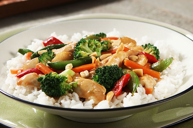 Easy chicken stir fry skillet kraft recipes easy chicken stir fry skillet forumfinder Choice Image
