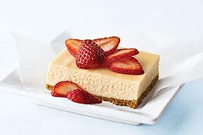 Cheesecake PHILADELPHIA estilo Nueva York con baño de crema agria