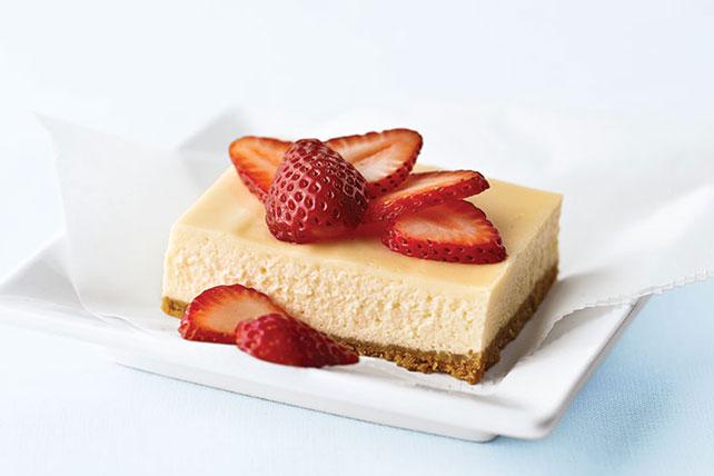 Cheesecake PHILADELPHIA estilo Nueva York con baño de crema agria Image 1