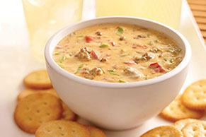 Cheesy Hawaiian Dip