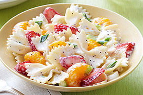 Strawberry-Orange Pasta Salad