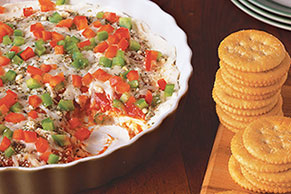 PHILLY Cheesy Pizza Dip