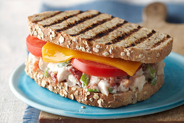 Chicken Salad Panini Image 1