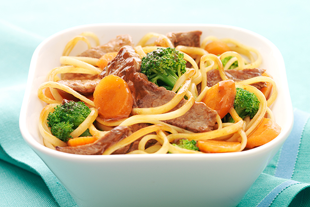 Beef n Broccoli Noodle Bowl Image 1