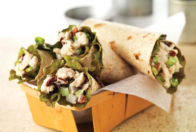 Crunchy Tuna Salad Wrap Image 1