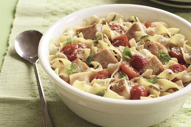 Italian Chicken & Tomato Pasta Toss Image 1