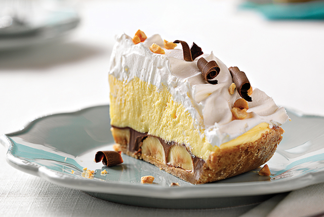 Peanut Butter-Chocolate Banana Cream Pie Image 1