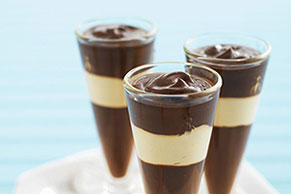 JELL-O Chocolate-Peanut Butter Parfaits