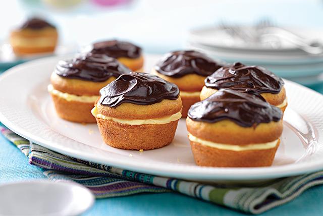 Boston Cream Pie Minis