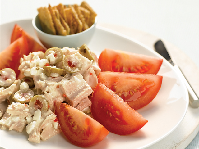 Salade de thon méditerranéenne Image 1