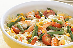 Lemon-Shrimp Pasta Salad Image 1