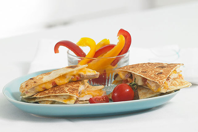 Cheesy Chicken Quesadilla  Image 1