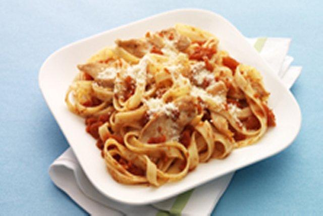 Chicken-Parmesan Pasta Toss Image 1
