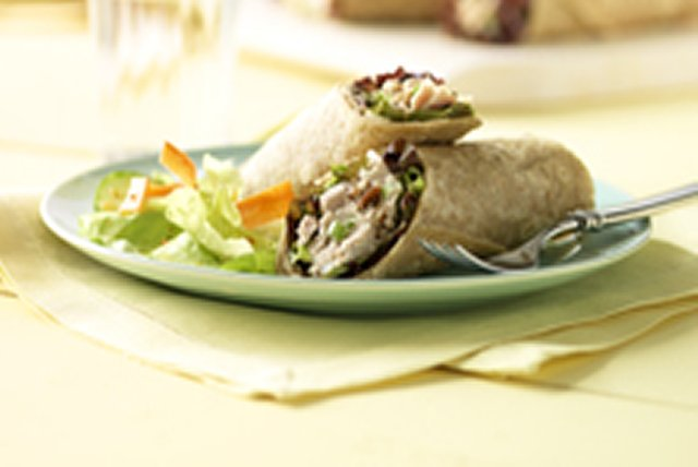 Crunchy Tuna Salad Wrap